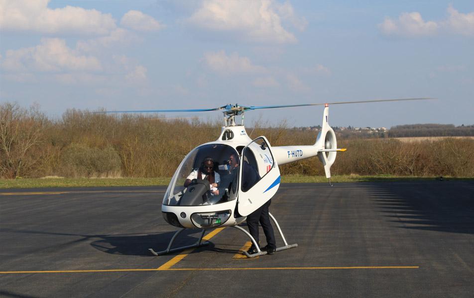 vol avec instructeur sur Cabri