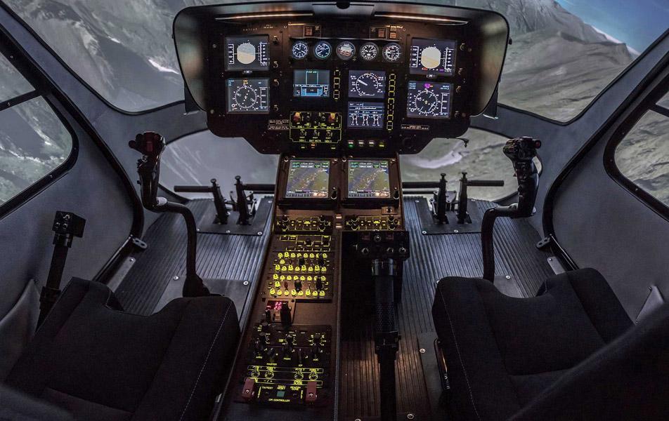simulateur de vol FTD2
