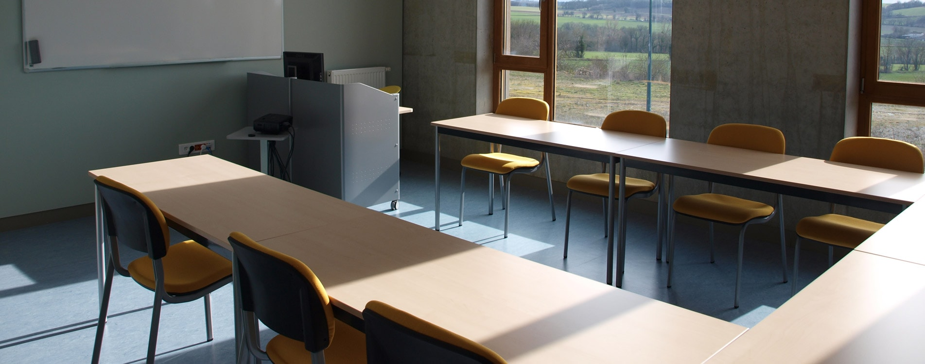 salle de cours HUTC