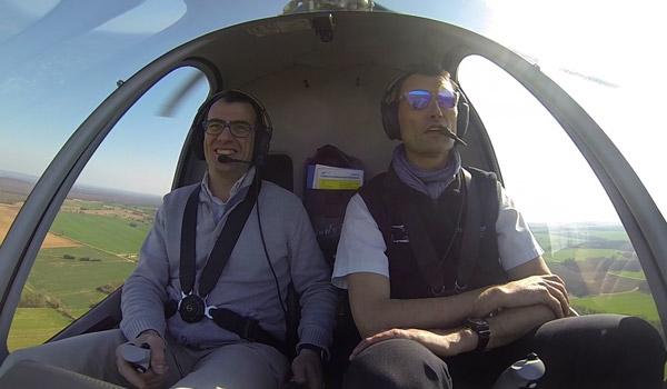 vol initiation hélicoptère
